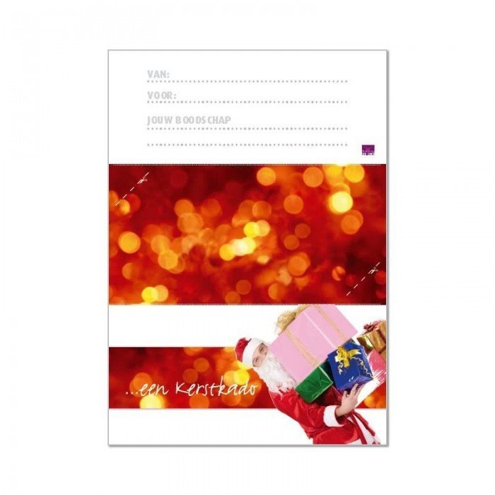 Printbare envelop Kerst voor hem
