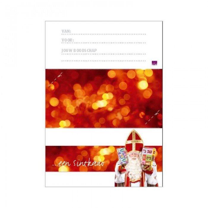 Printbare envelop Sinterklaas