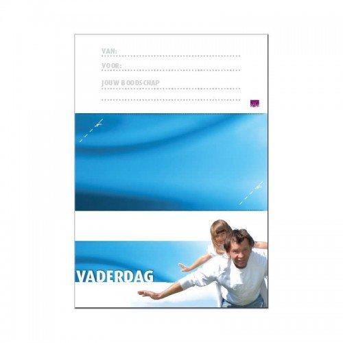 Printbare envelop Vaderdag